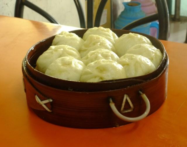 """Breakfast """"xiaolongbao"""""""